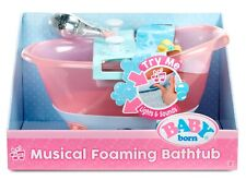 "Baby born Musical Foaming Bathtub with Splashing Sounds & Lights - Newâ""¢"