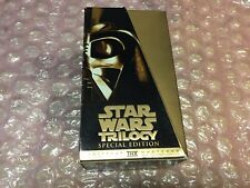 Star Wars Trilogy VHS 1997 Special Edition GOLD BOX Great Shape