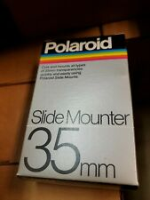 Nos lot of 30 Polaroid 35mm Slide Mounter, original box & accessories new