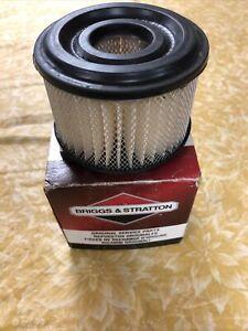 NOS Briggs & Stratton 390492 Round Air Filter Cartridge