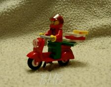 LEGO City Square ** Pizza Delivery Motorbike ** New (60097)