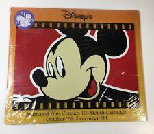Walt Disney Wall Calendar New Sealed - 1999 Animated Film Classics