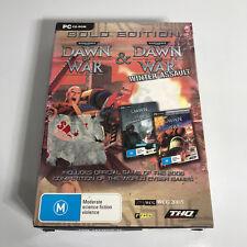 PC Game - Warhammer 40000 Gold Edition Dawn of War + Winter Assault - Box + Disc
