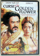Yimou Zhang's CURSE OF THE GOLDEN FLOWER DVD w/ Chow Yun-fat, Gong Li, Jay Chou