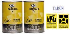 2 LITRI OLIO BARDAHL XTR 10W60 C60 39.67 RACING MOTORE AUTO POLARPLUS FULLERENE