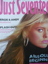 JUST SEVENTEEN MAGAZINE 9/4/86 - PATSY KENSIT - FALCO - A-HA