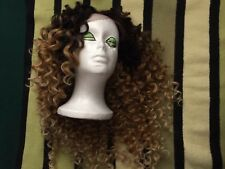 Loose Wave Lace Front Wig, 26 Inch Long Ombré 613 Synthetic Cosplay Wigs.Superb