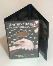 More details for united states penny collector souvenir coin album 2nd edition with 34 coins