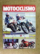 Revista Motociclismo num.886 enero 1985.Luike Editor
