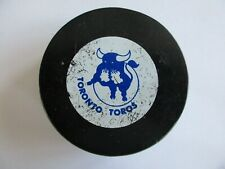 Vintage 1970's WHA Toronto Toros Official Game Puck Viceroy