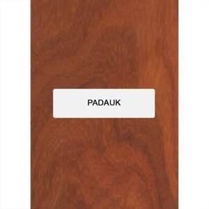 "Padouk Guitare Archtop Tailpiece Blank, 8 "" x 3.4 "" X 5/8 """