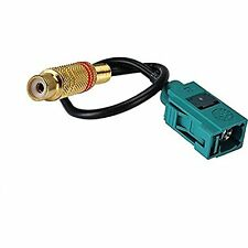 Fakra Z Female to RCA Female Extension Cable RG174 15cm High Quality Ships From