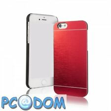 Coque Arriere Metal - Rouge - Apple Iphone 5/5S/5SE