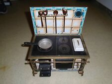 Vintage  german Tin Toy Litho Kitchen Cooking very rare