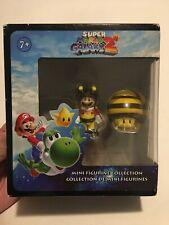 Banpresto Nintendo Super Mario Galaxy 2 Mario Bee & Mushroom Mini Figures