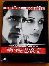 CONSPIRACY THEORY  DVD PAL FORMAT REGION 2  Mel Gibson, Julia Roberts