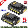 2Pack For Dewalt DCB201 DCB203 DCB207 20V 20 Volt Battery Max Lithium-Ion 2.0Ah