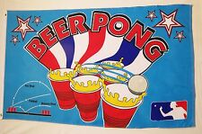 Beer Pong Flag 3' X 5' Indoor Outdoor Party Game Banner