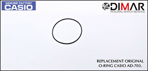 Casio Gasket / Back Seal Rubber, o-Ring, For AD-703