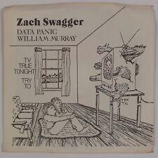 "ZACH SWAGGER: TV True Tonight IT'S GONE Private '81 Dark Wave Experimental 7"" 45"