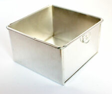 Square Aluminium Cake Tin Baking Pan 5""