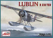 LUBLIN R XIII TER - WWII POLISH AF FLOAT PLANE 1/72 AEROPLAST (pzl) RARE!