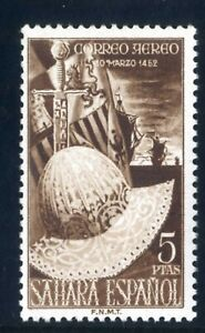 Sellos Sahara 1952 nº 97 Fernando el Catolico nuevos colonias españolas