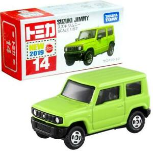 Takara Tomy Tomica #14 Suzuki Jimny Scale 1/57 Diecast Green Toy Car Japan