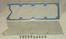 LS1 Valley Cover Billet Aluminum Plate Knock Sensor Delete  & FELPRO Gasket