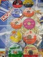 ⭐ LOT 10 JEUX POKÉMON DX MICKEY MARIO NINTENDO GAMECUBE GC JAPAN JAP NTSC-J🎌⭐