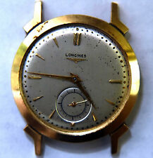Mens Longines 14K Solid Gold Watch For Parts