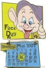 Disney Pin 52191 DLR Holidaze Calendar May Dopey Snow White Dwarf LE 1000 *