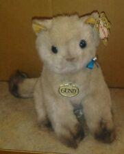Vintage Gund Cat Named Siam