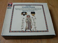 Wagner - Tannhäuser - Haitink - König - Popp - Moll - 3CD - EMI UK Black Angel