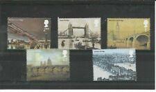 GB 2002 London Bridges set - SG 2309/13 - u/m
