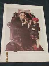 Norman Rockwell The Doctor And The Doll 11.5x15.5 Print, Free Shipping