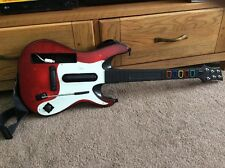 Wii Guitar Hero Red Octane Guitarra gran condición Completamente Funcional