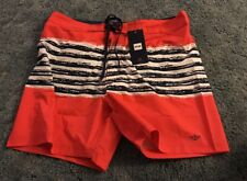 "Nwt Dockers Men's Pink Swim Trunks New 6"" Inseam Size 38. Really Cute!!"