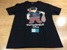 The Hundreds x Disney Lost Boys Curly Short Sleeve Tee Shirt Black Size Large