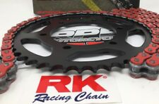 Red 2007-08 GSXR1000 RK GXW530 16/43 QA Ratio 530 Chain and Sprocket Kit Suzuki