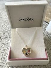 NEW Genuine  Pandora Heart floating Locket With disney charms l RRP £175