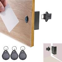ETEKJOY RFID Electronic Cabinet Lock Hidden DIY for Wooden Cabinet Locker Drawer