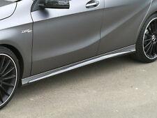MINIGONNE / SIDE SKIRTS in ABS mod. AMG look per Mercedes classe A w176