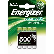 8x ENERGIZER 500Mah NiMH RECHARGEABLE BATTERIES AAA LR03 MN2400 HR03 MX2400 24A