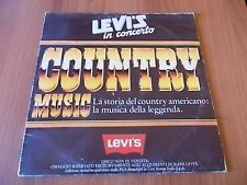 "12"" promo LEVI'S IN CONCERTO - COUNTRY MUSIC 1982"