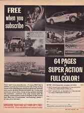 1969 CHARGER / BARRACUDA ~ ORIGINAL DRAG RACING PICTORIAL MAGAZINE AD
