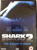 Shark Attack 2 DVD 2000 Horror Thriller Movie