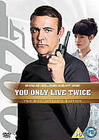 You Only Live Twice (DVD, 2008, 2-Disc Set) New Ultimate Edition James Bond