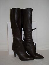 Nine West New Womens Fairvinda Dark Brown Boots 5.5 M Shoes NWB