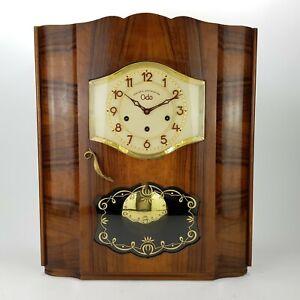 Bim Bam Odo 24 111 10 Gong Westminster + Ave Maria Regulator clock Wanduhr